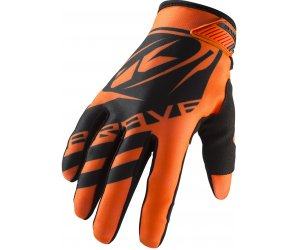 KENNY rukavice BRAVE 19 neon orange