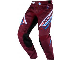 KENNY kalhoty TRACK Victory 20 burgundy