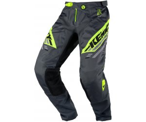 KENNY kalhoty TRACK Victory 20 charcoal/neon yellow