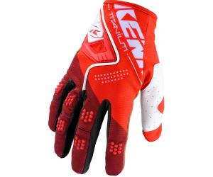 KENNY rukavice TITANIUM 20 red