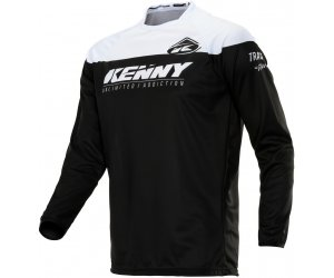 KENNY dres TRACK Raw 20 black/white