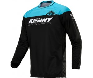 KENNY dres TRACK RAW 20 black/turquoise