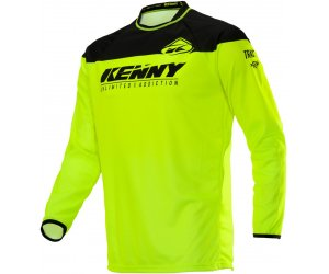 KENNY dres TRACK Raw 20 neon yellow