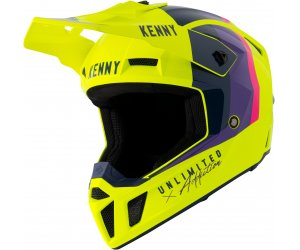 KENNY přilba PERFORMANCE 21 neon yellow