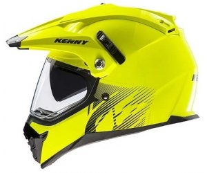 KENNY přilba XTR 14 neon yellow