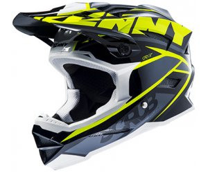 KENNY cyklo přilba SCRUB 15 neon yellow/black