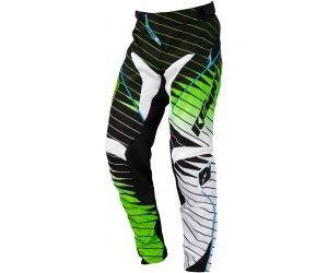 KENNY kalhoty PERFORMANCE 16 black/green