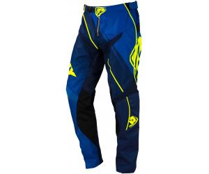 KENNY kalhoty TRACK 16 blue/neon yellow