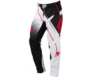 KENNY kalhoty TRACK 16 black/white/red