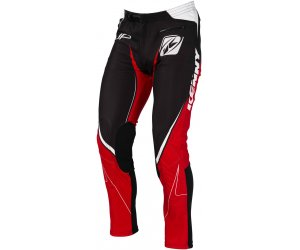 KENNY kalhoty TRIAL UP 16 black/red
