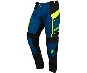 KENNY kalhoty ENDURO 16 navy/neon yellow