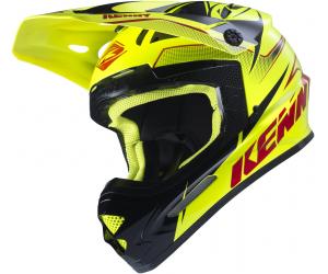 KENNY přilba TRACK 17 neon yellow