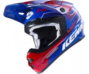 KENNY přilba TRACK 17 blue/red