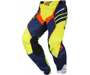 KENNY kalhoty TITANIUM 17 navy/neon yellow