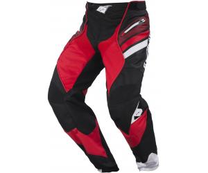 KENNY kalhoty TITANIUM 17 black/red