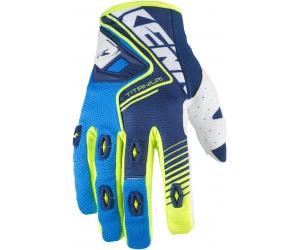 KENNY rukavice TITANIUM 17 blue/cyan