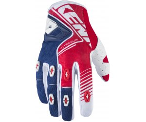 KENNY rukavice TITANIUM 17 red/blue