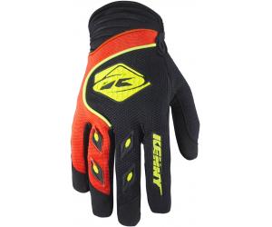 KENNY rukavice TRACK 17 dětské black/neon orange