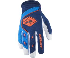 KENNY rukavice TRACK 17 detské navy / cyan / orange
