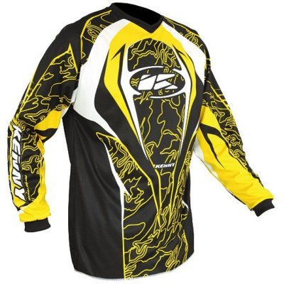 KENNY dres PERFORMANCE 10 LE Jungle yellow