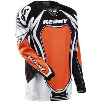 KENNY dres TITANIUM 11 orange