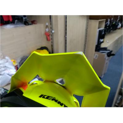 KENNY přilba PERFORMANCE 17 neon yellow/blue/orange - POUŽITÁ