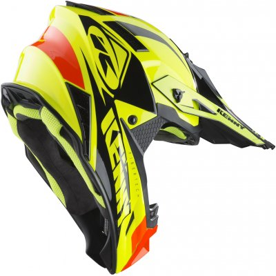 KENNY prilba TROPHY 19 neon yellow/orange