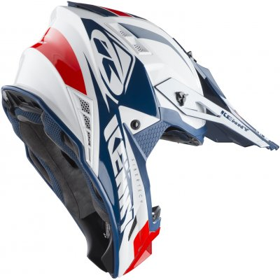 KENNY přilba TROPHY 19 white/red/navy