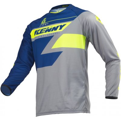 KENNY dres TRACK 19 navy/lime