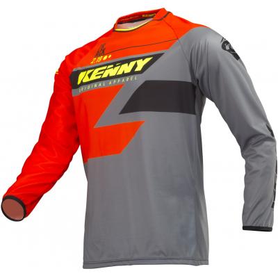 KENNY dres TRACK 19 orange grey neon yellow 70b390a80b