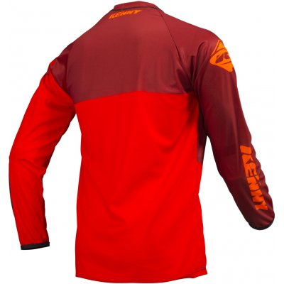 KENNY dres TRACK 19 dětský full red