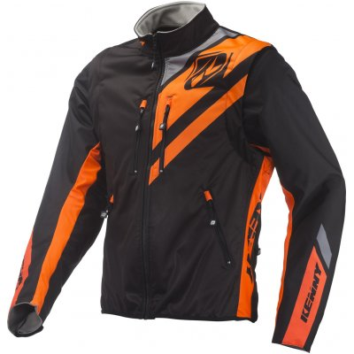 KENNY bunda SOFTSHELL ENDURO 19 black/neon orange