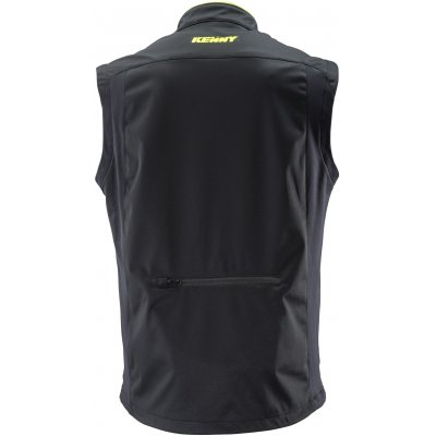KENNY vesta BODYWARMER 19 black/neon yellow