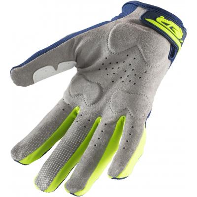 KENNY rukavice TITANIUM 19 navy/neon yellow