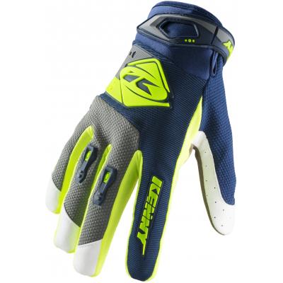 KENNY rukavice TRACK 19 navy/lime