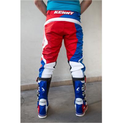 KENNY kalhoty SCAR blue/white/red