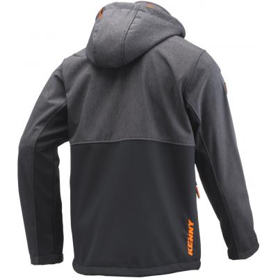 KENNY bunda RACING 19 Softshell black/grey