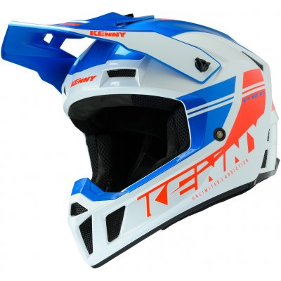 KENNY přilba PERFORMANCE 20 blue/white/red