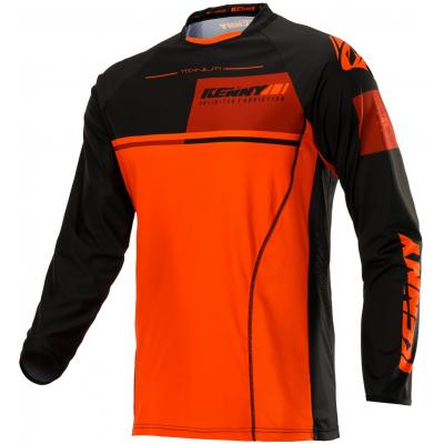 KENNY dres TITANIUM 20 black / orange