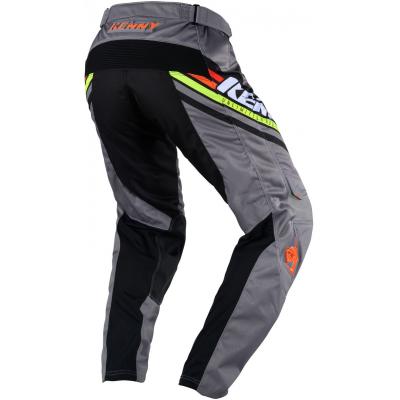 KENNY kalhoty TRACK Victory 20 black/grey/orange