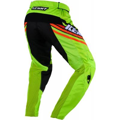 KENNY kalhoty TRACK Victory 20 lime/black