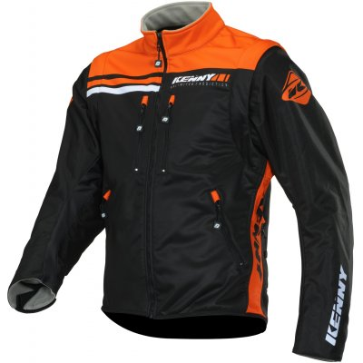 KENNY bunda SOFTSHELL ENDURO 20 black / orange