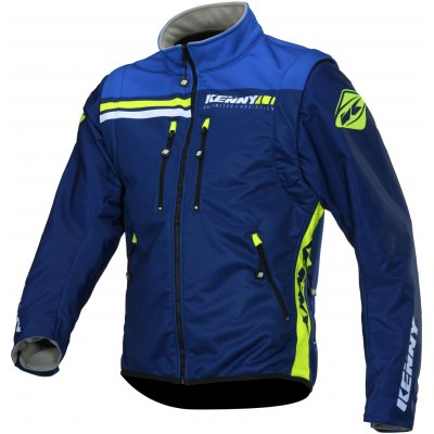 KENNY bunda ENDURO SOFTSHELL 20 navy / neon yellow