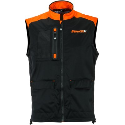 KENNY vesta BODYWARMER+ 20 black/neon orange