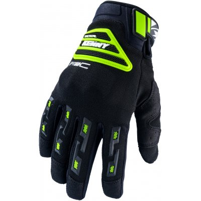 KENNY rukavice SF-TECH black/neon yellow