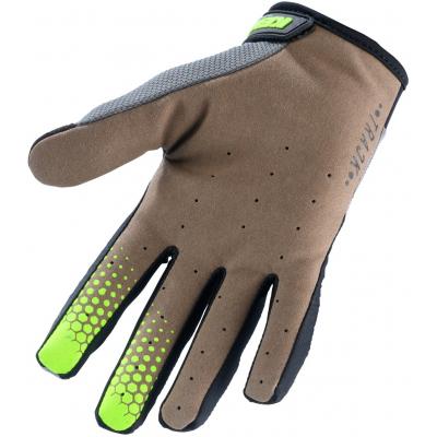 KENNY rukavice TRACK 20 dětské grey/lime