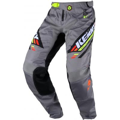 KENNY kalhoty TRACK Victory 20 dětské black/grey/orange