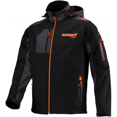 KENNY bunda RACING 20 Softshell black / neon orange