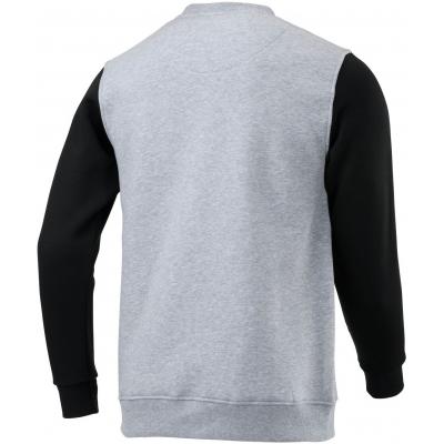 KENNY mikina ORIGINAL 20 heather grey/black