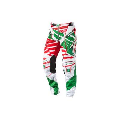KENNY kalhoty TITANIUM 14 green/red